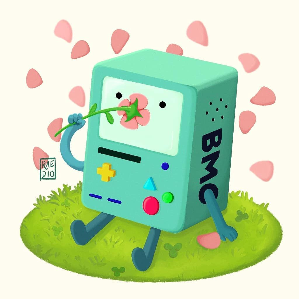Remember When Bmo Got Married Engaged To A Bubble It Took A Little Bit But I Offi Adventure Time Wallpaper Adventure Time Characters Adventure Time Art