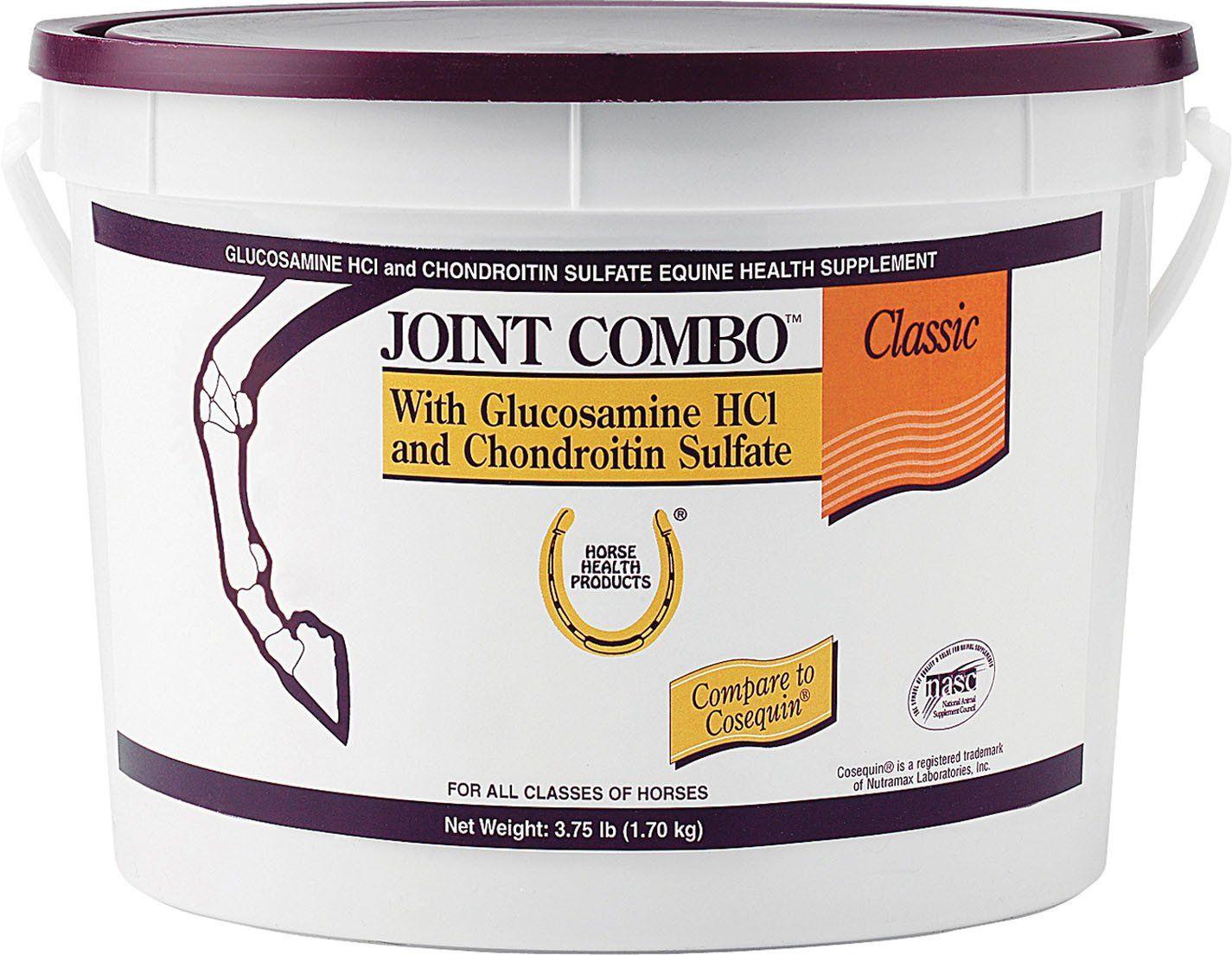 Joint combo wglucosamine chondroitin for horses