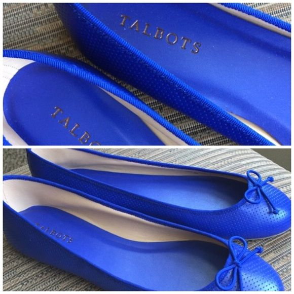 Talbots Royal Blue Flats Size 10M Shoes