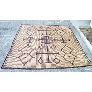 Moroccan Leather Rug Touareg African Style