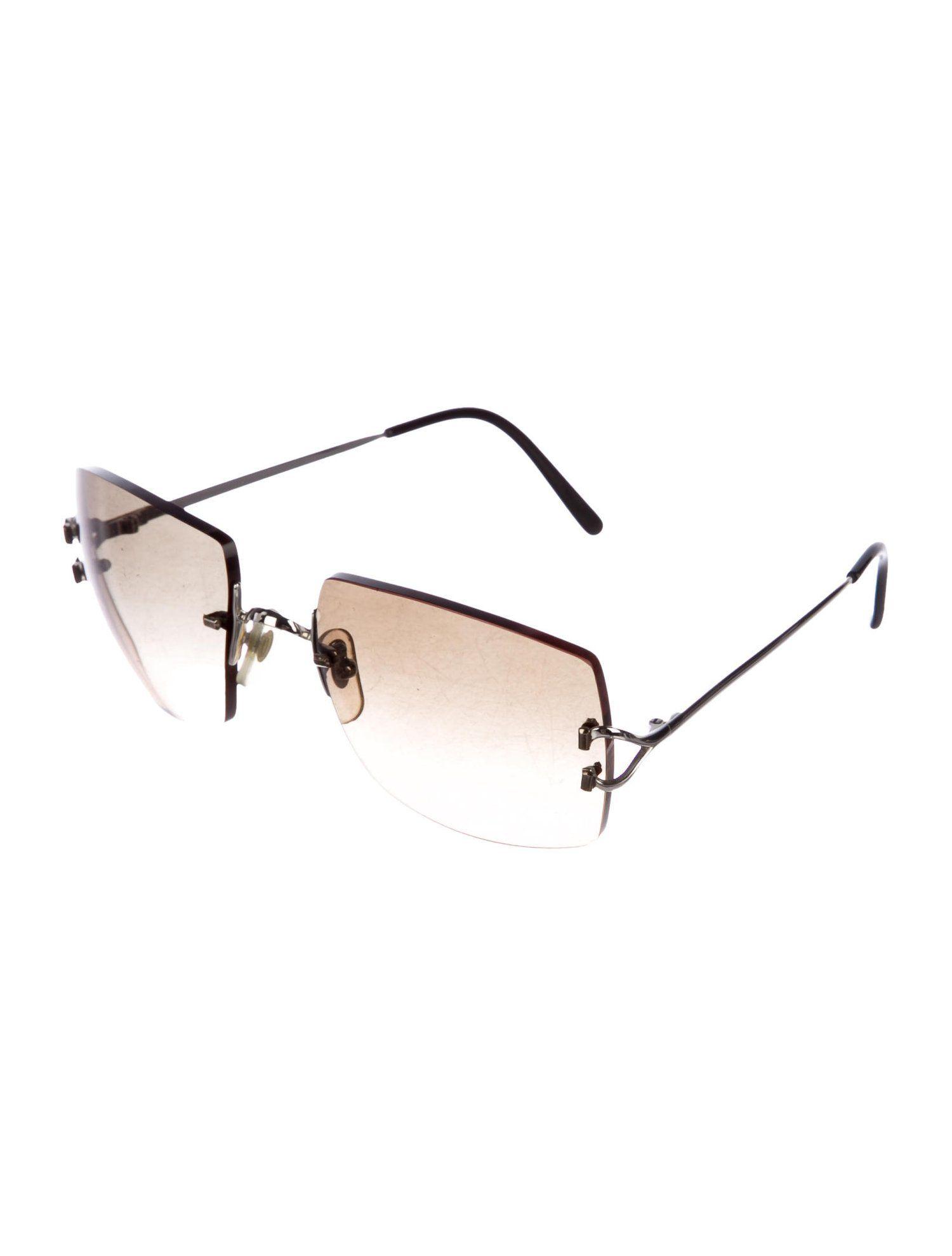 2fa972e9b8 Cartier C-Decor Rimless Sunglasses  Decor  Cartier  Sunglasses