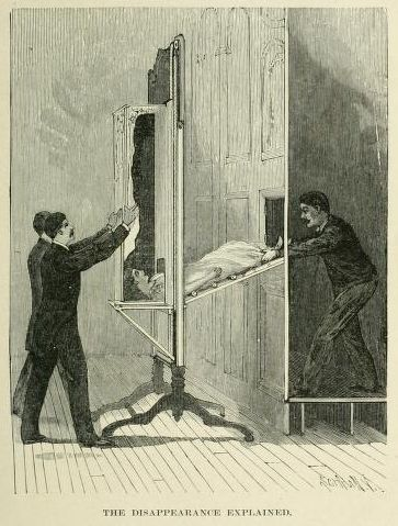 Illustrations from a Victorian book on Magic (1897
