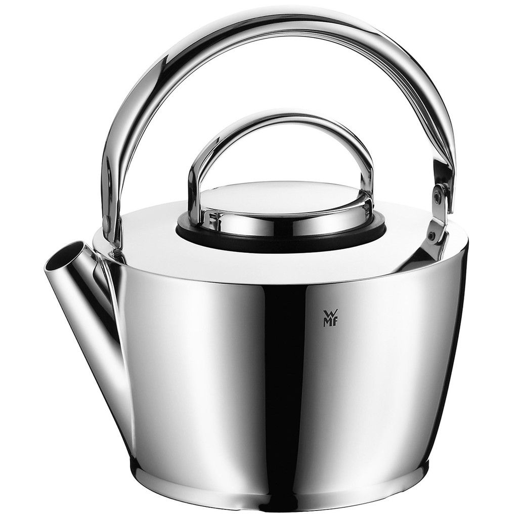 meant for 1 or 2 people this wmf cromargan 18 10 stainless steel 1 quart tea kettle is cute. Black Bedroom Furniture Sets. Home Design Ideas
