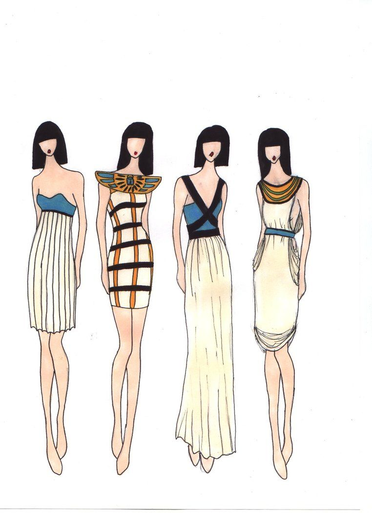 Designs - Ancient Egypt Love the second dress | Ancient Egyptian ...