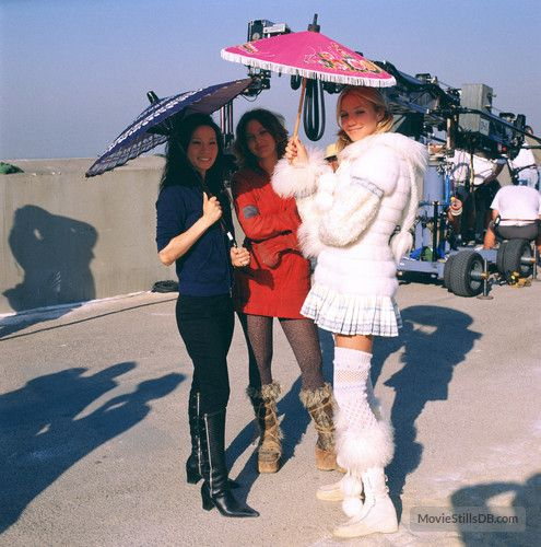 Charlie S Angels 2 Lucy Liu Drew Barrymore And Cameron Diaz 2003