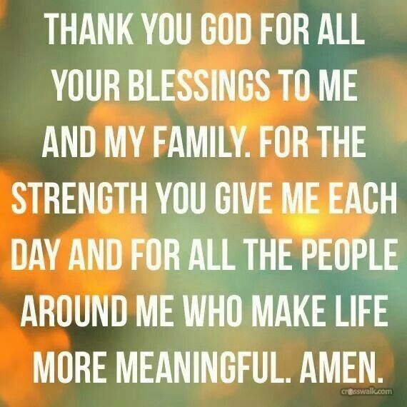 19+ Thankful for my blessings ideas