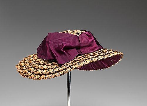 1887 Hat, The Metropolitan Museum of Art
