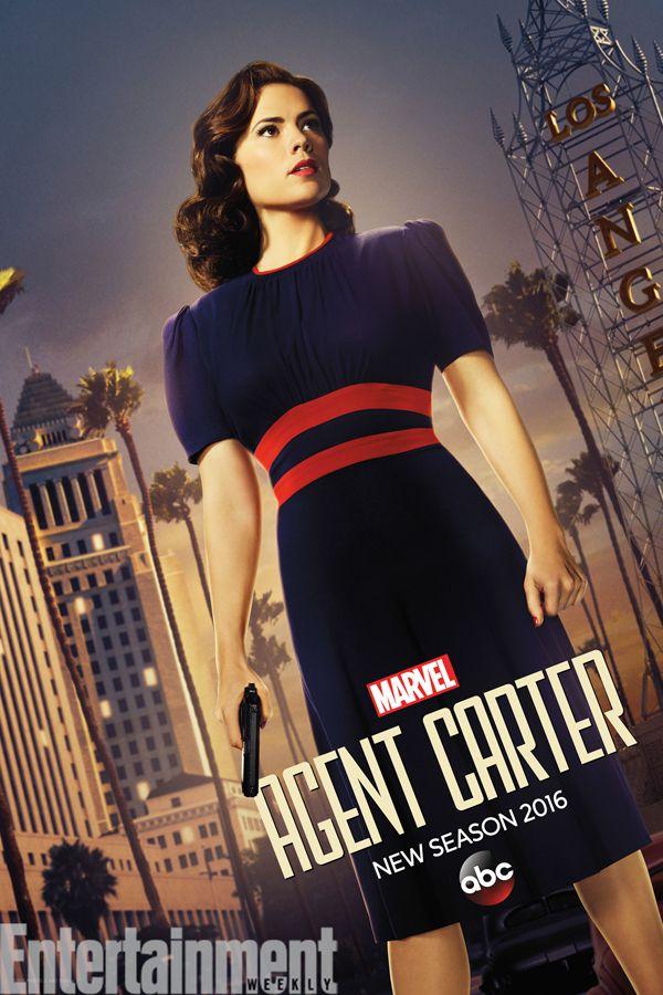 La Agente Carter llega a Los Ángeles en este póster de la serie - La segunda temporada de Agente Carter llevará a los protagonistas de la serie a Los Ángeles. Nueva localización, nuevas amenazas y, esperamos, mismo nivel de acción de aventuras que su anterior temporada... Nosotros ya estamos enganchados #Marvel