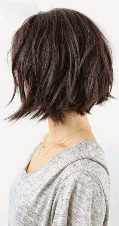 37 Short Choppy Layered Haircuts Messy Bob Hairstyles Trends For Autumn Winter 2019 2020 Messy Bob Hairstyles Messy Short Hair Short Choppy Layered Haircuts