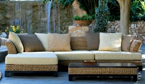 Muebles de ratán y mimbre | Patios and Interiors