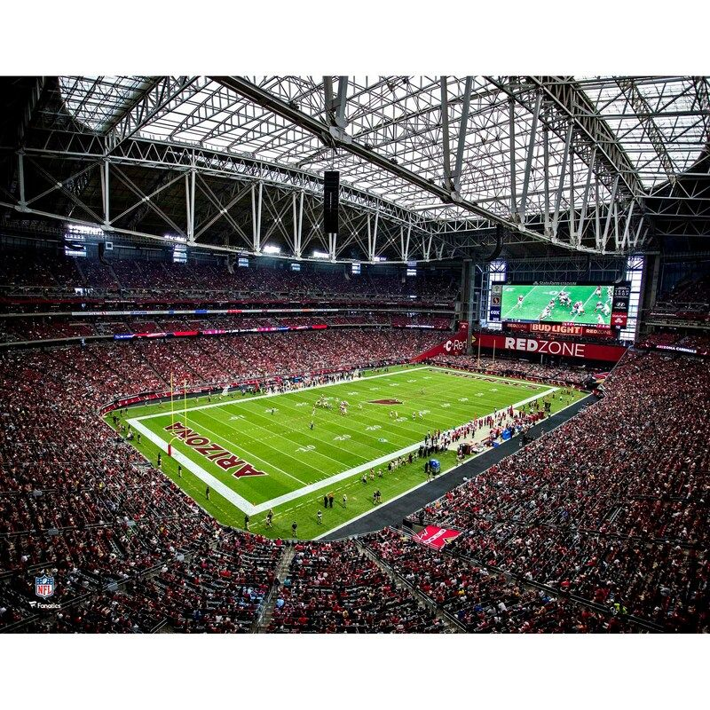 This is an original photograph of State Farm Stadium. It is officially licensed by the National Football League.