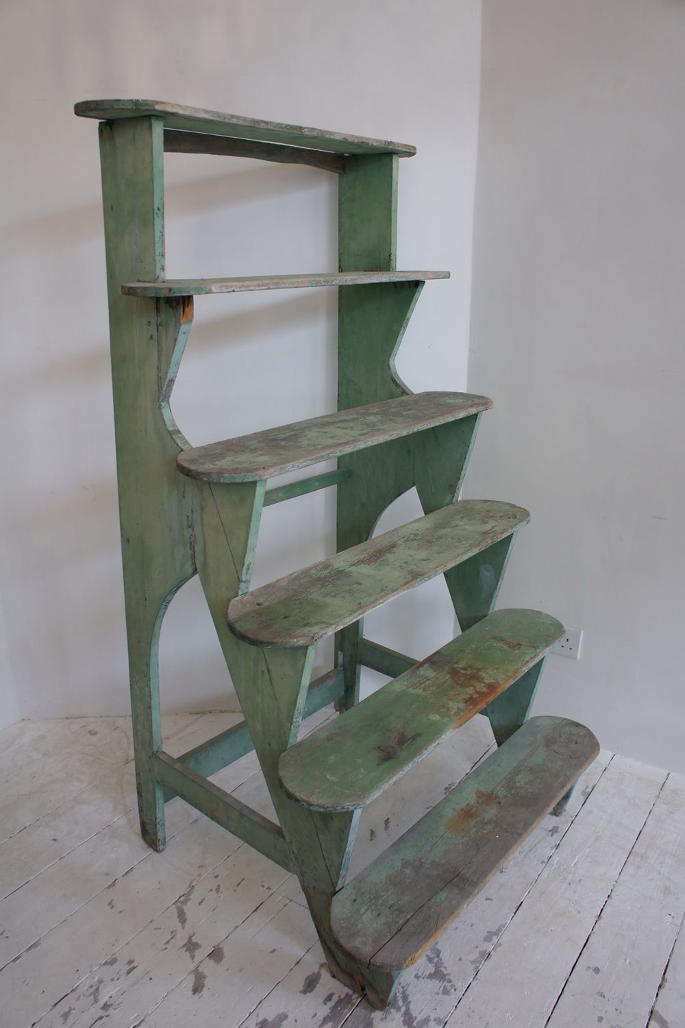 Stunning And Unusual Antique Conservatory Plant Stand In 400 x 300