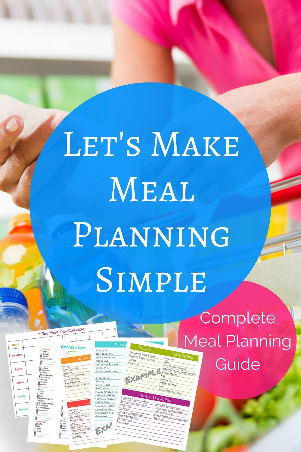 Lets Make Meal Planning Simple Complete Meal Planning Guide Lets Make Meal Planning Simple Complete Meal Planning Guide