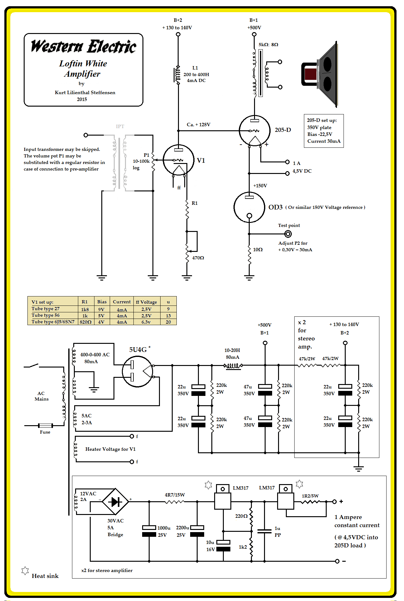 Welwra Lilienthal Amplifier Amplifiers Pinterest Valve Preamplifier Circuit Diagram Car Audio Speaker Dc