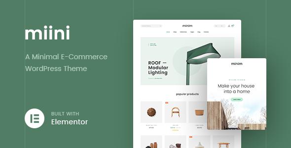 f331bbaae2 Miini - A Minimal WooCommerce Theme - #boostifythemes #ecommerce #elementor  #furniture-store #minimal #minimal-furniture #minimal-shop #mobile-ready  #modern ...