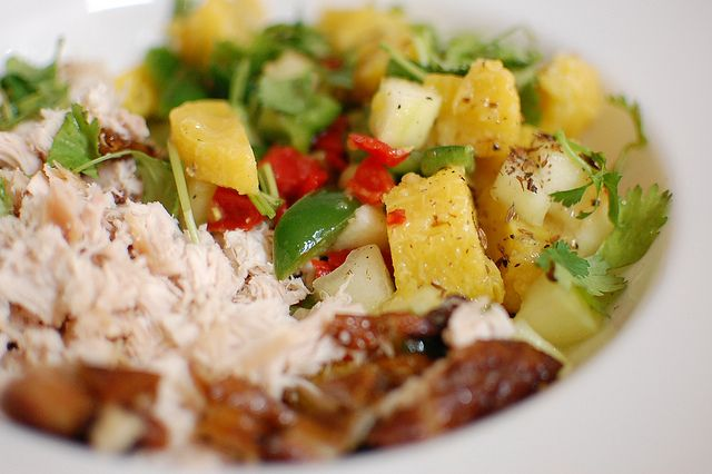 Plantain salad imoyo nigerian food cuisine africaine - Comment cuisiner les bananes plantain ...