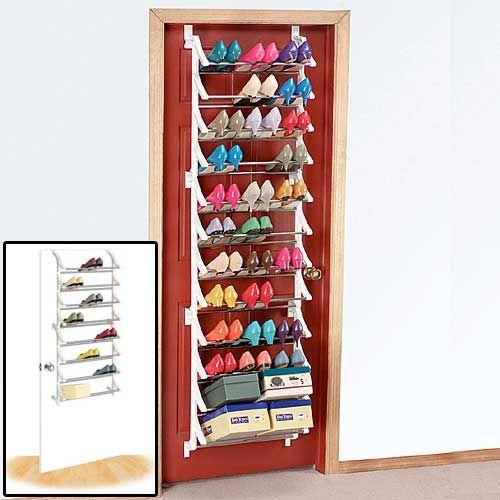 Shop Shoe Organizers Overdoor Shoe Rack Chose To Store 24 Or 36