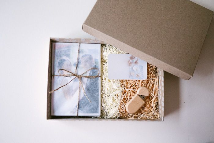 Wedding Photography Usb And Prints Packaging
