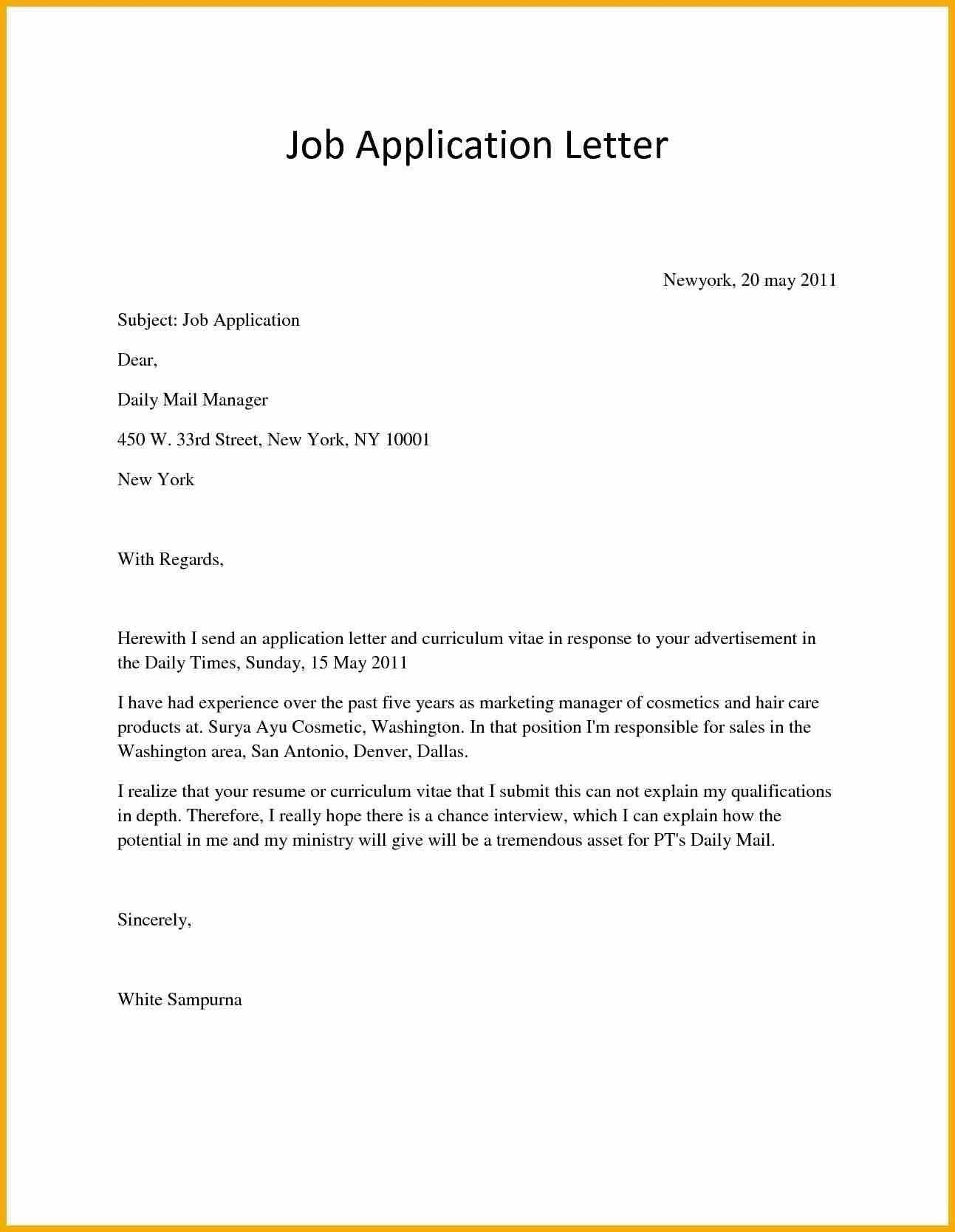 20 best cover letter for a job new cover letter page
