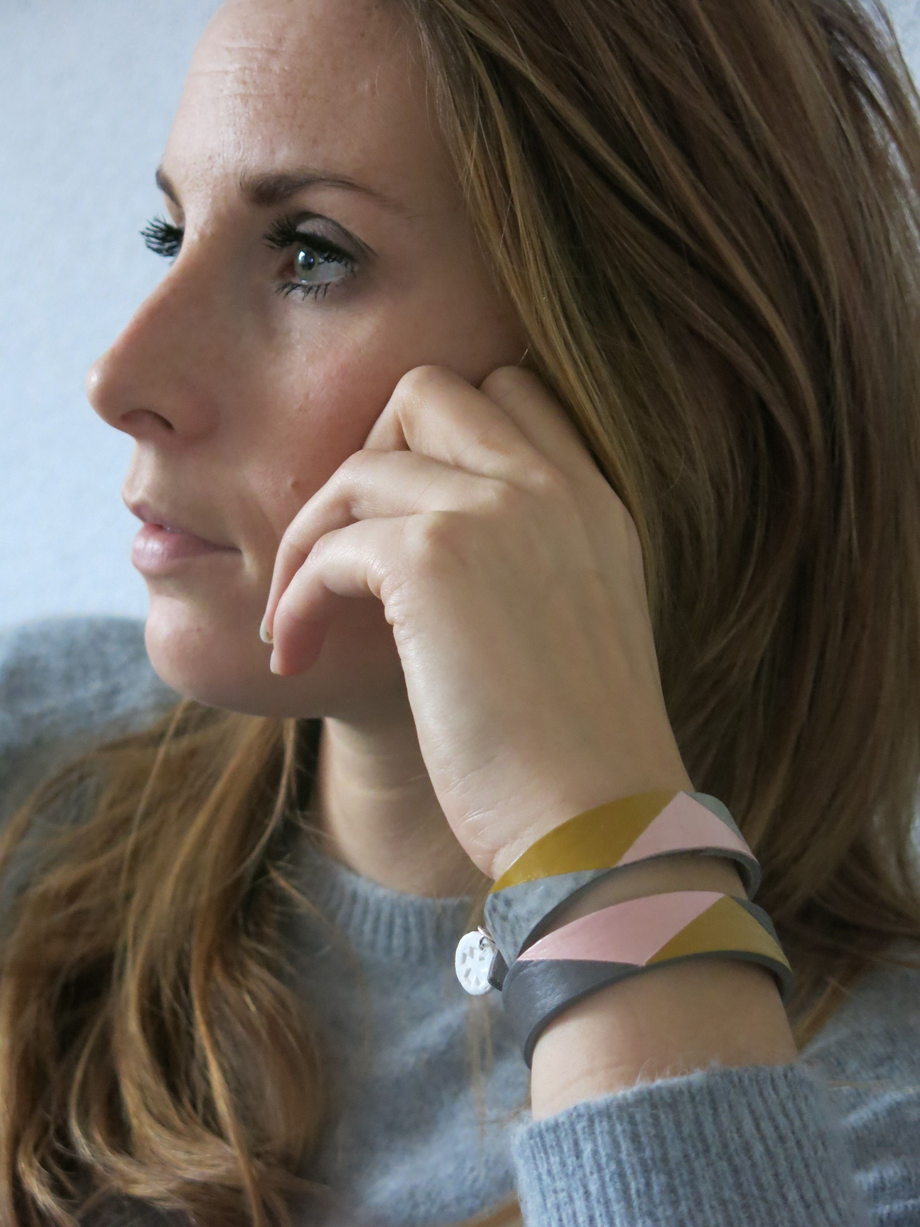Leather Bracelet Armband Leer Mannen Vrouwen Leer