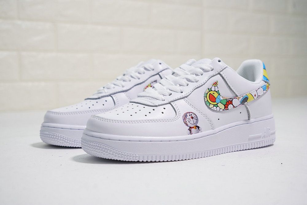 ad2750e864856 NIKE AIR FORCE 1 LOW X TAKASHI MURAKAMI DORAEMON 314219 031 | NIKE ...