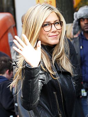 f6c2be47a6 Jennifer Aniston Wears Glasses for Wanderlust