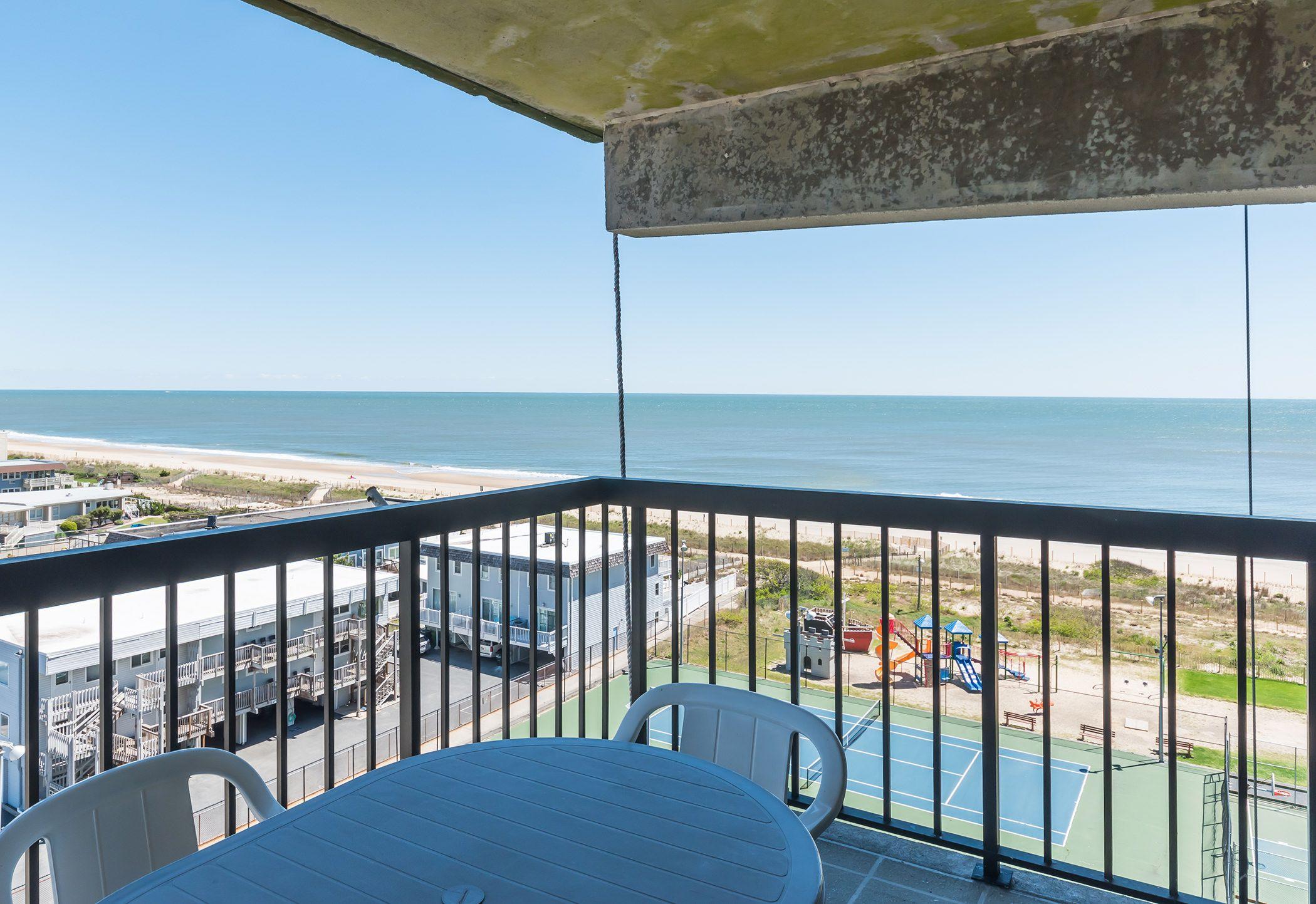 Beautiful Balcony Views Ocean City Rentals Ocean City Ocean