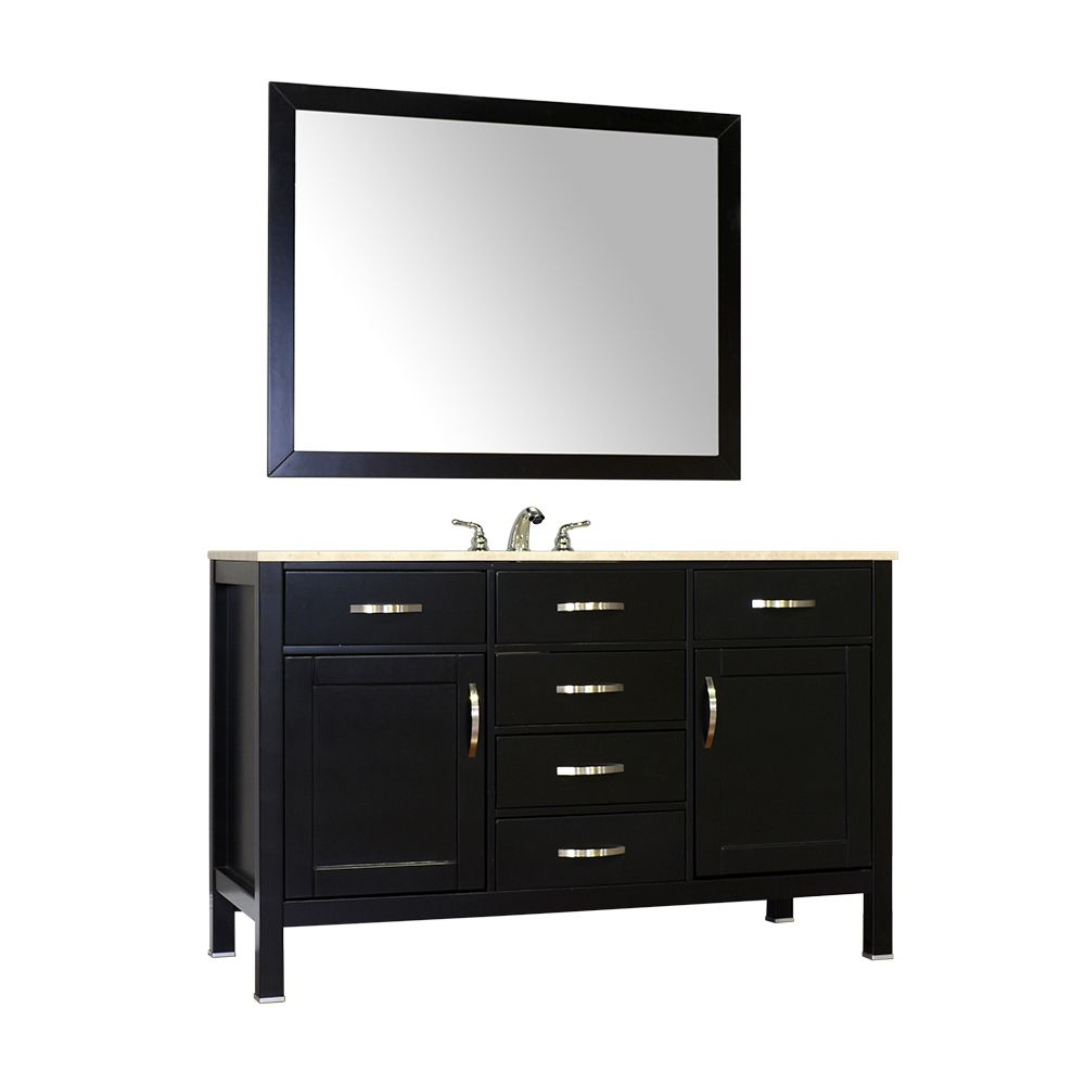 Hudson Collection FW 8016 56 B 56  Single Bathroom Vanity   Hudson  Collection Bathroom Vanities   Pinterest. Hudson Collection FW 8016 56 B 56  Single Bathroom Vanity   Hudson