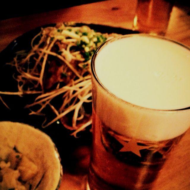 Sapporo Draft Beer at 풍월, 서래마을