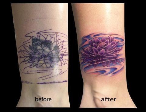 My Beautiful Lotus Flower Cover Up Wrist Tattoo Cover Up Cover Up Tattoos Flower Wrist Tattoos