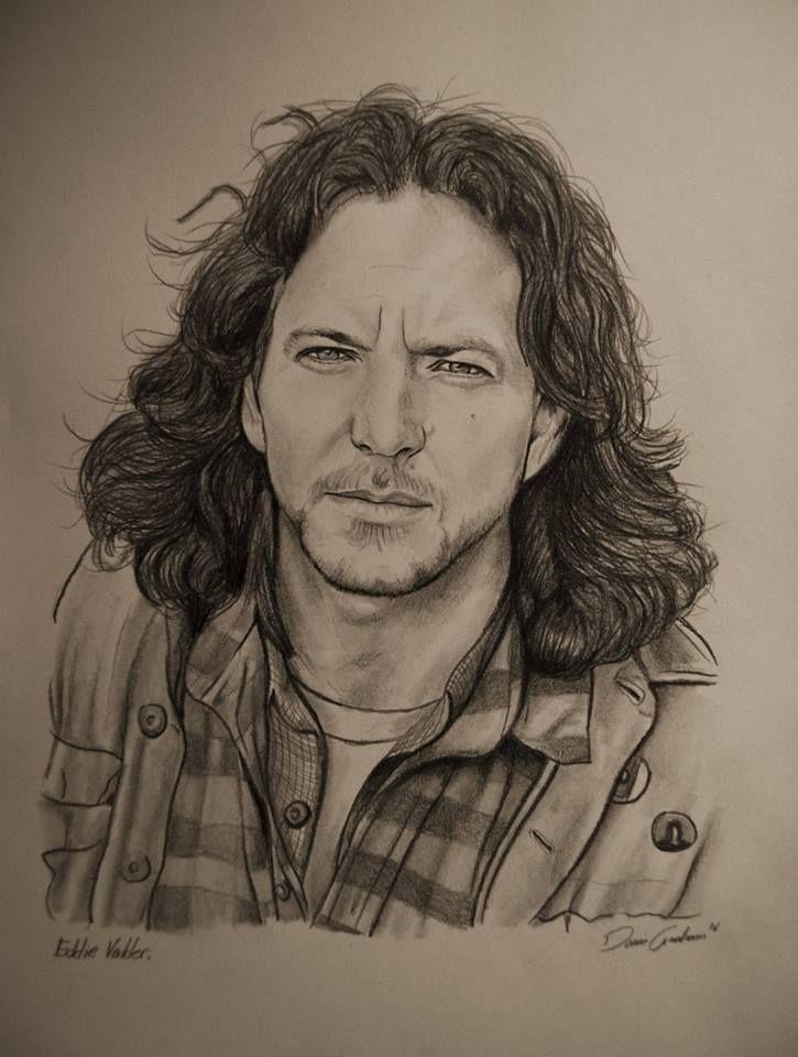 Eddie Vedder Drawing