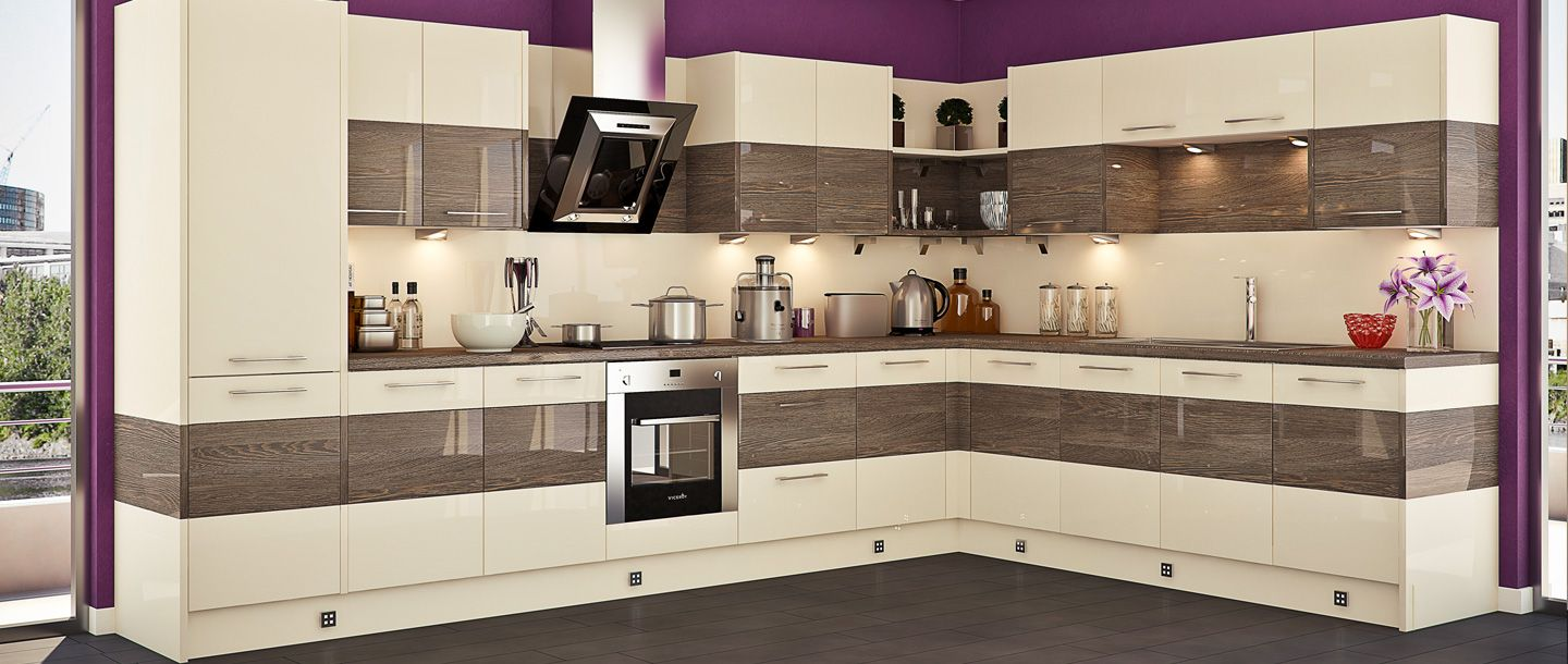 Crema Mali Wenge Kitchen From The Wren Autograph Range