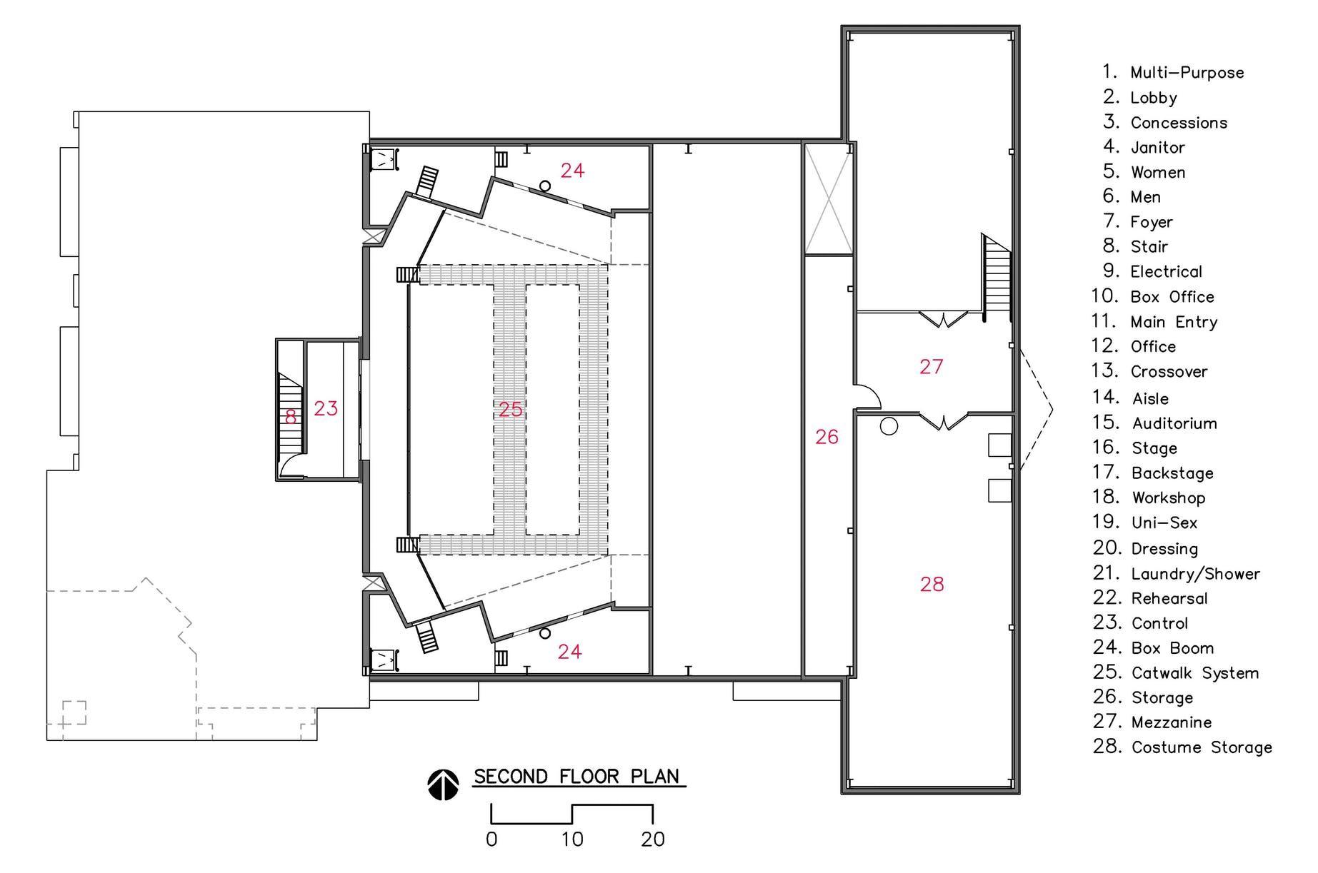 Camelot Theatre | audi | Theatre, Floor plans, Auditorium