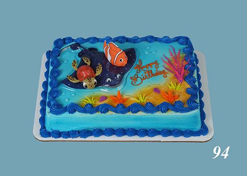 nemo sheet cake 2nd birthday Pinterest Order cake Bakeries