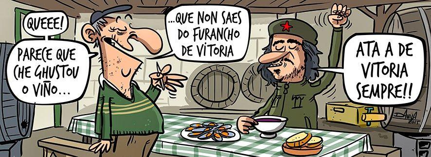 FuranCHEiro #CHE #Humor #Vitoria #Viño ;) @OBIchero