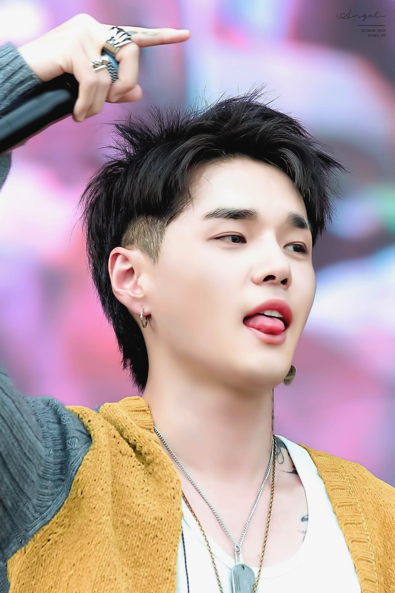 Dean Kwon Hyuk Mullet Hairstyle Dean
