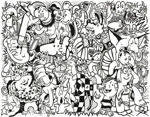 Coloring Page Art Print That Supports Literacy | Wayne Edson Bryan ...