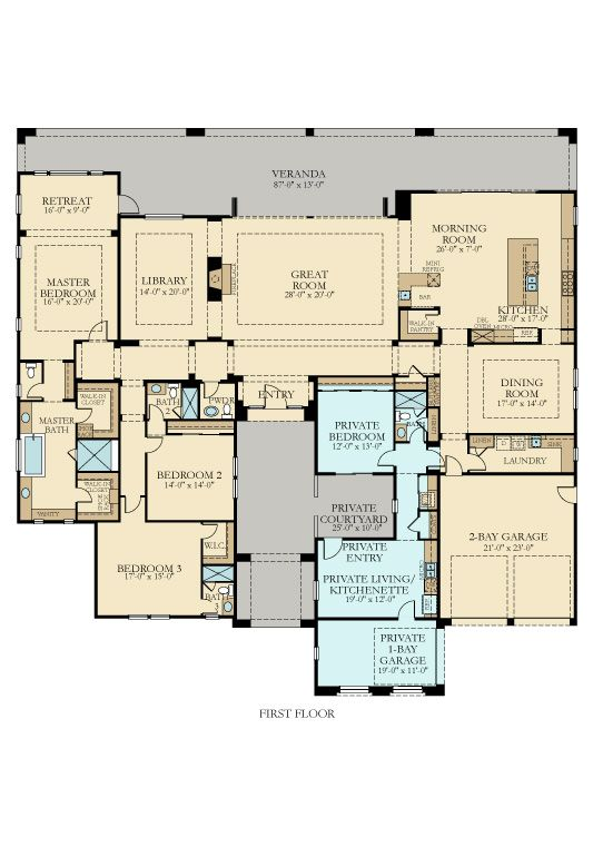 Pin By Nikki Lynn On House Plan Multigenerational House Plans New House Plans House Plans