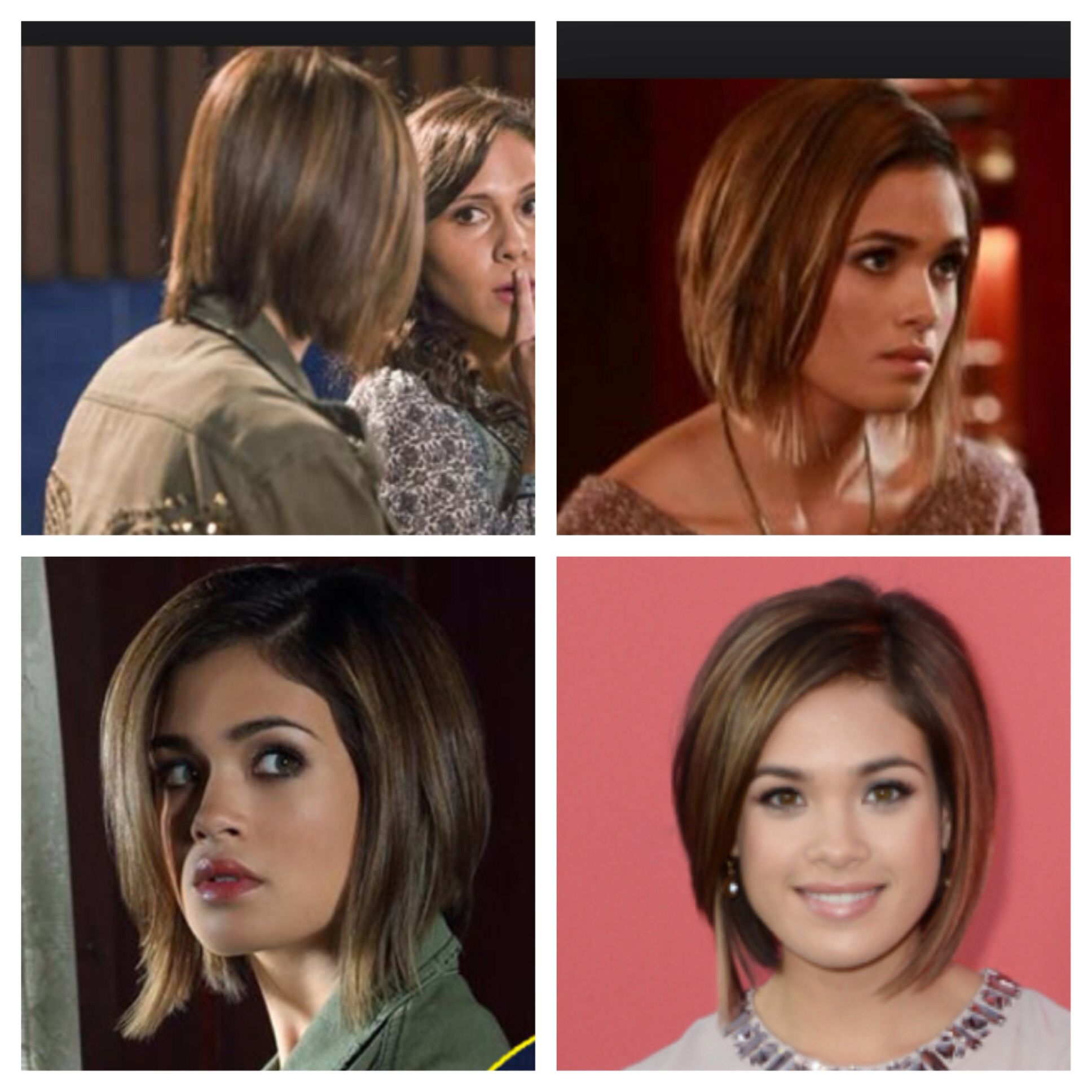 nicole gale anderson from ravenswood. i really love her hair. next