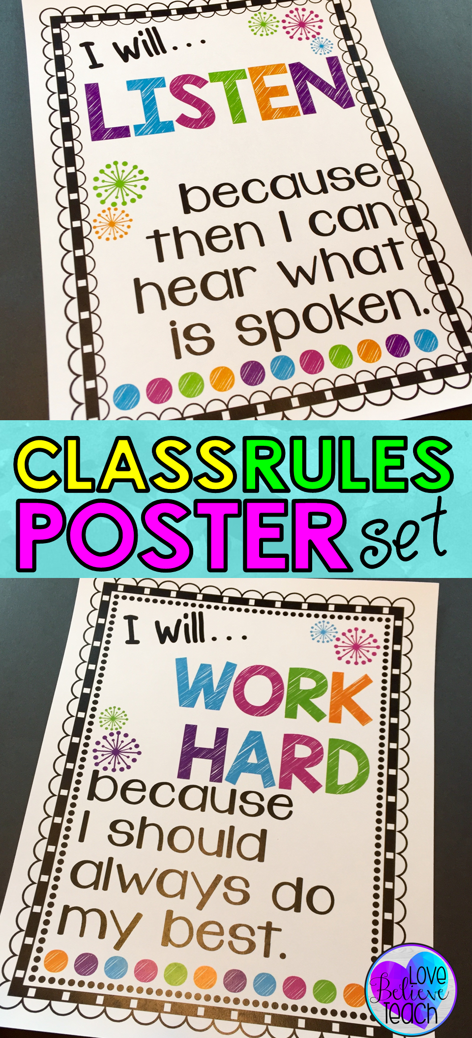 Classroom Rules Posters Class Rules Posters Classroom Rules Poster Class Rules Poster Classroom Rules