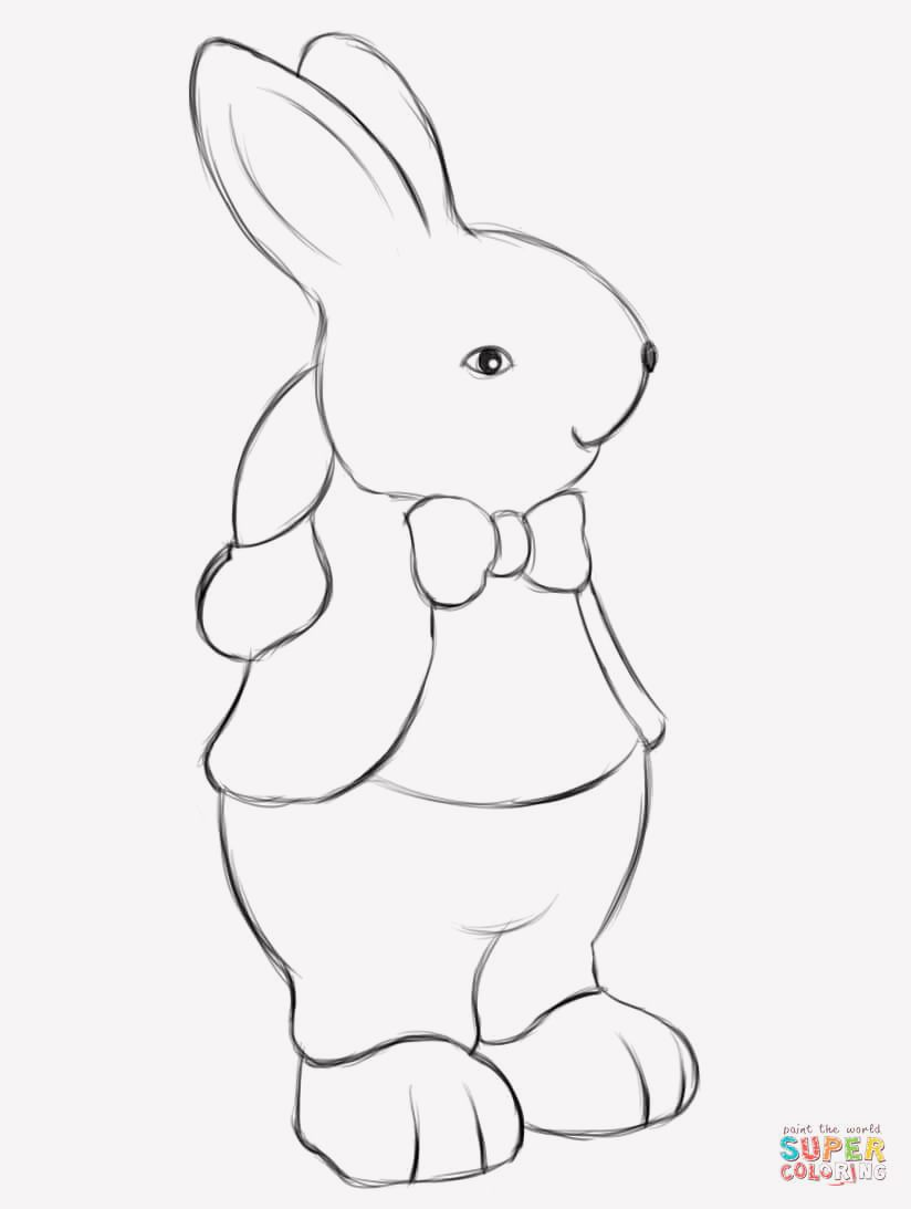 15 Easter Coloring Pages Supercoloring Easter Coloring Pages Easter Colouring Bunny Coloring Pages