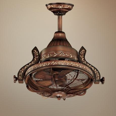 """16"""" Casa Vieja Esquire Rotational Head Ceiling Fan ..."""
