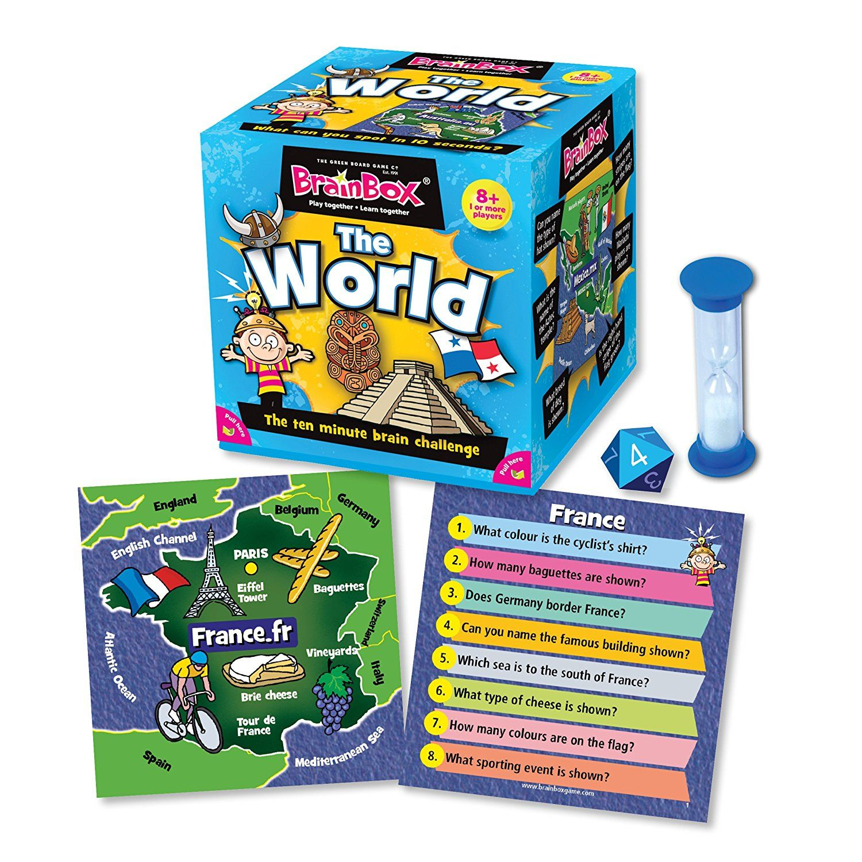 Brainbox All Around The World Toys & Games