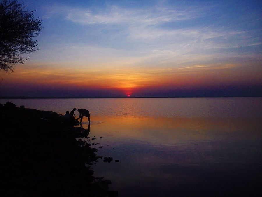 The last sight of sun Before Sunset by Suresh Chennabatni on 500px