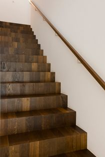 Houten trap trappen pinterest wooden steps staircases and interiors - Houten trap ...