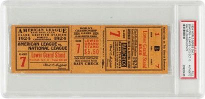 Walter Johnson memorabilia consigned by family to Heritage Auctions