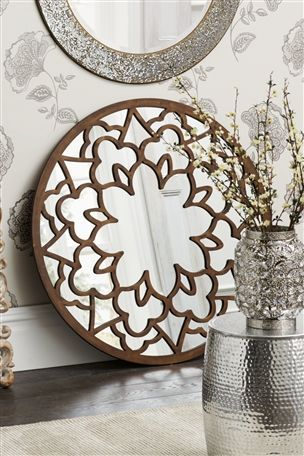 Buy Fretwork Mirror From The Next UK Online Shop
