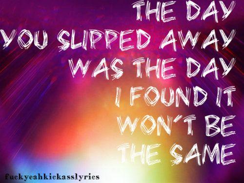 Slipped Away-Avril Lavigne by fdty on DeviantArt