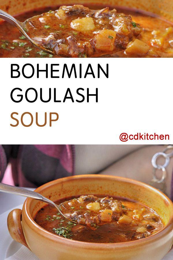Photo of Bohemian Goulash Soup Recipe | CDKitchen.com