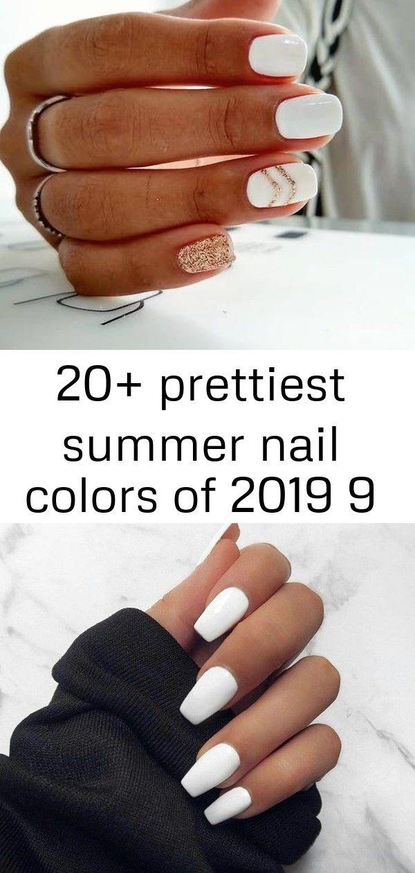 20+ mooiste zomernagelkleuren van 2019 9